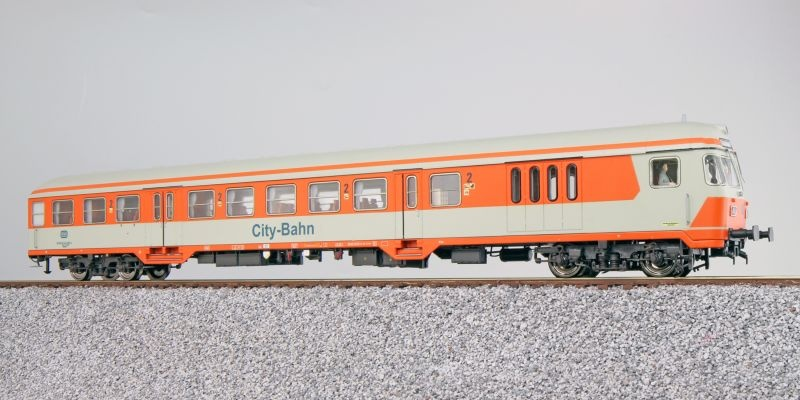 n-Wagen Silberling BDnrzf784.1 Steuerwagen DB orange DC H0