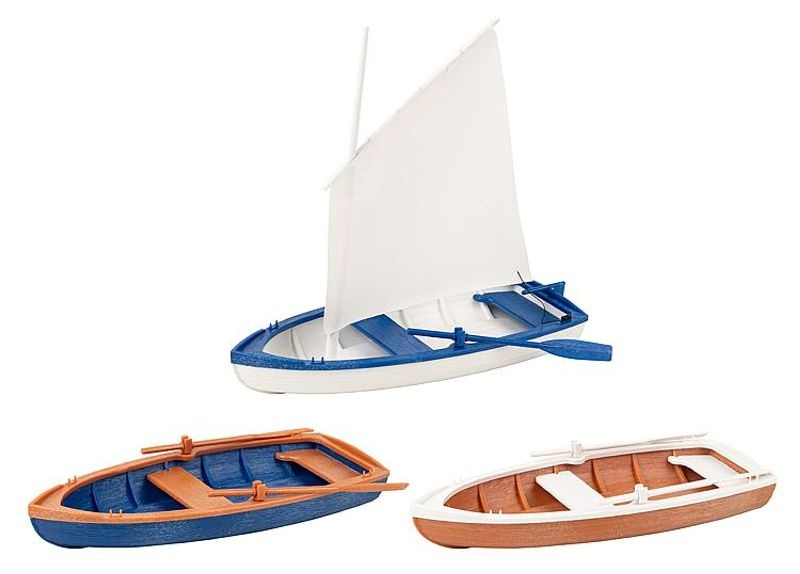 Ruder-/Segelboote, Bausatz, Spur G