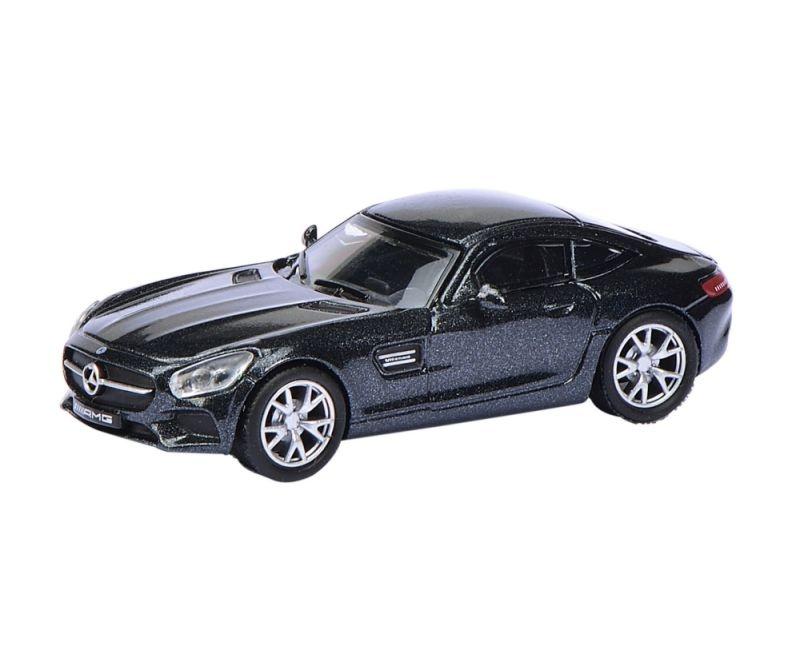 Mercedes- AMG GT S, schwarz 1:87 / Spur H0