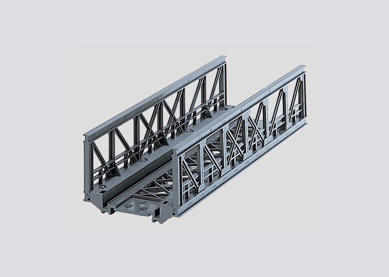 Gitterbrücke 180 mm lang, 45 mm hoch H0