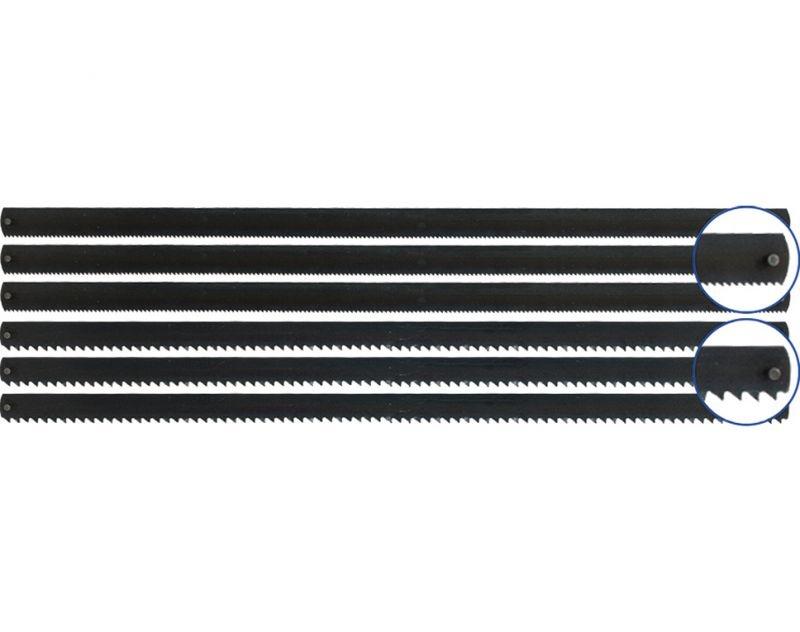 Stift Sägeblätter 148 mm (3x für Holz / 3x für Metall)