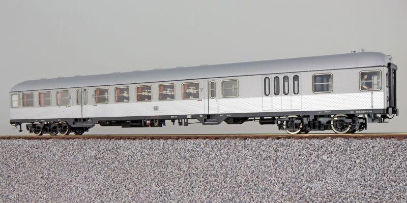 n-Wagen Silberling BD4nf-59, Steuerwagen DB, silber, DC H0