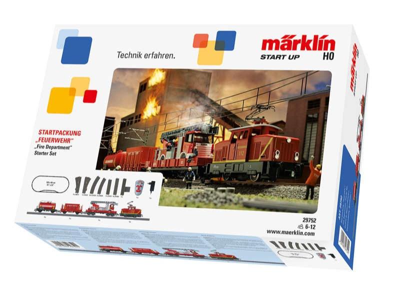 Start up - Startpackung Feuerwehr DB C-Gleis H0