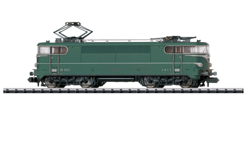 E-Lok Serie Serie BB 9200 der SNCF, Sound, Minitrix Spur N