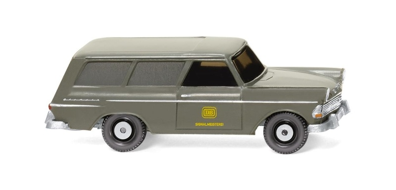 Opel Rekord 60 Caravan DB, 1:87 / Spur H0