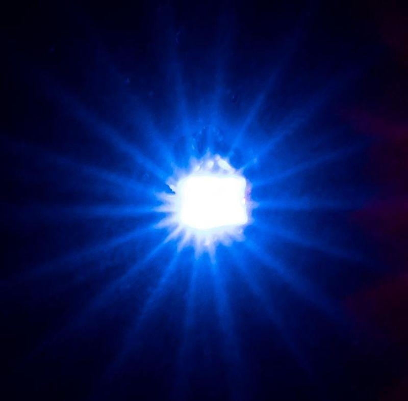 5 selbstblinkende LEDs, blau