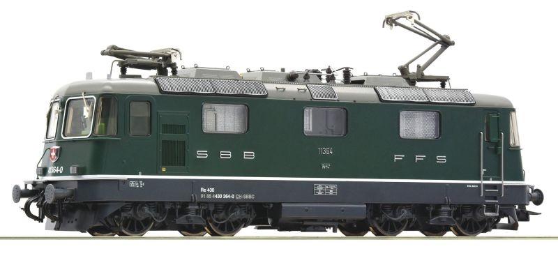 E-Lok Re 430 der SBB grün, Sound, DC, Spur H0