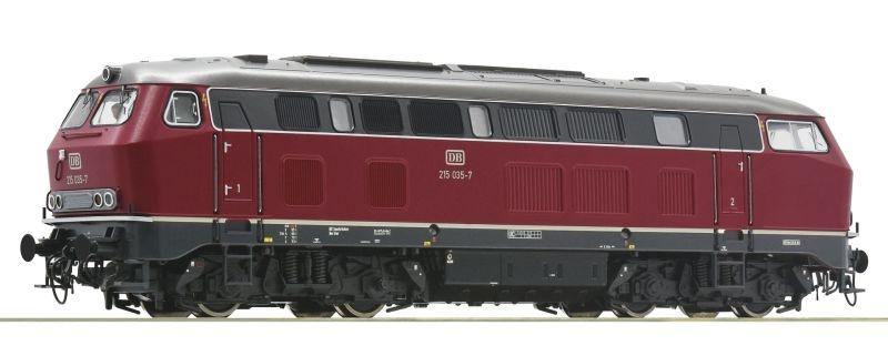 Diesellokomotive BR 215 der DB Sound, Sound, DC, Spur H0