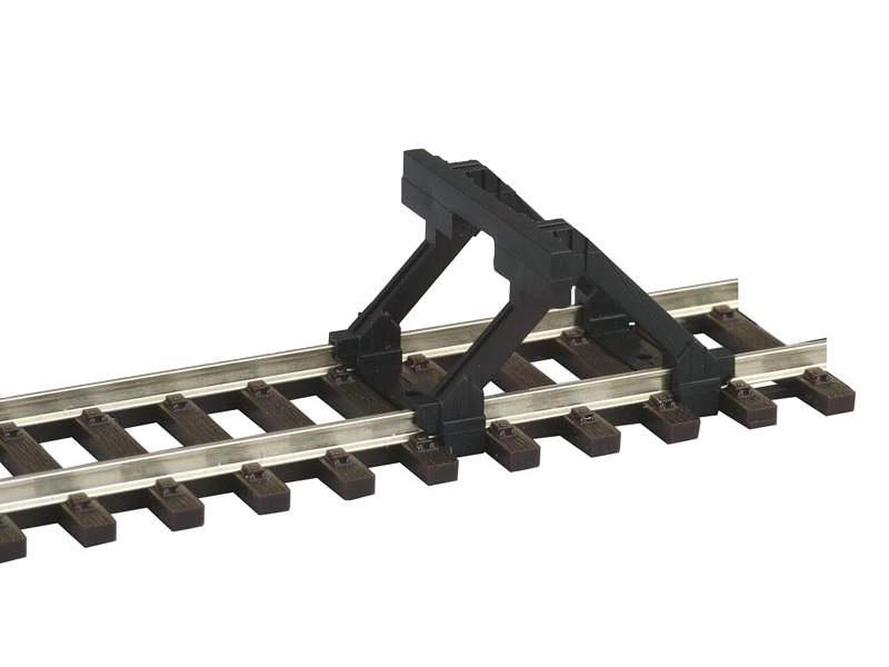 Prellbock mit Holzbohlen 2 Stk. Spur H0