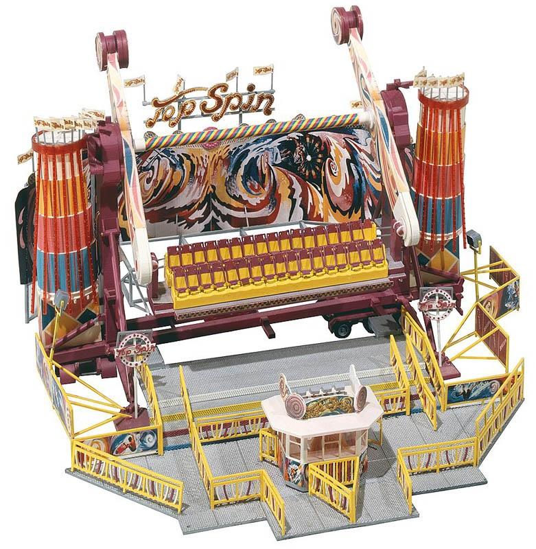 Kirmes Karussell Top Spin Bausatz H0