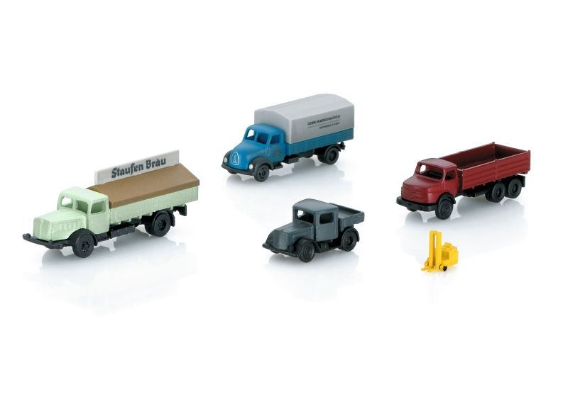 Fahrzeug-Set bestehend aus 5 Fahrzeugen, Spur Z