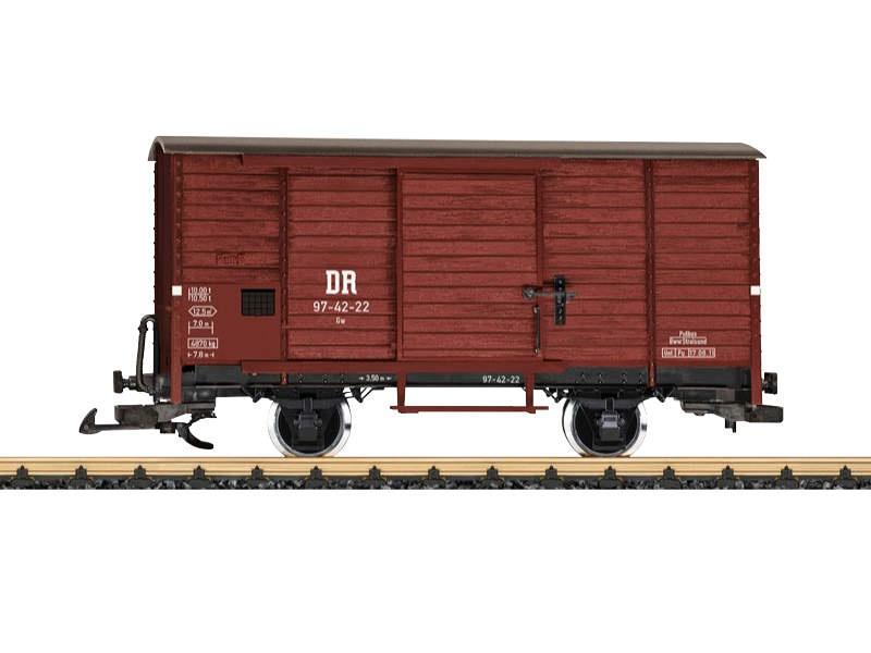 RüBB gedeckter Güterwagen Spur G