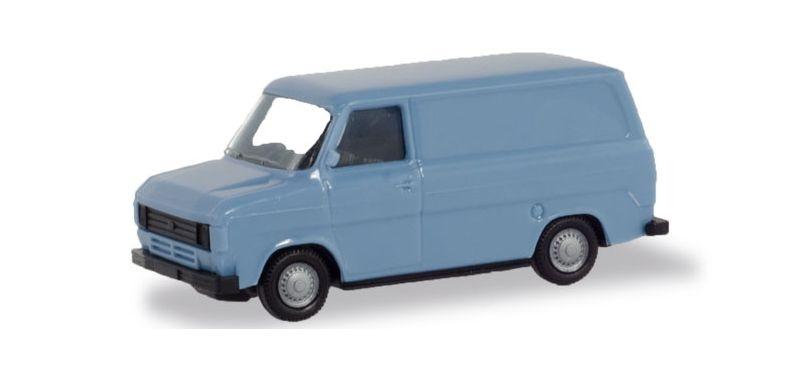 Ford Transit Kasten, pastellblau 1:87 / H0