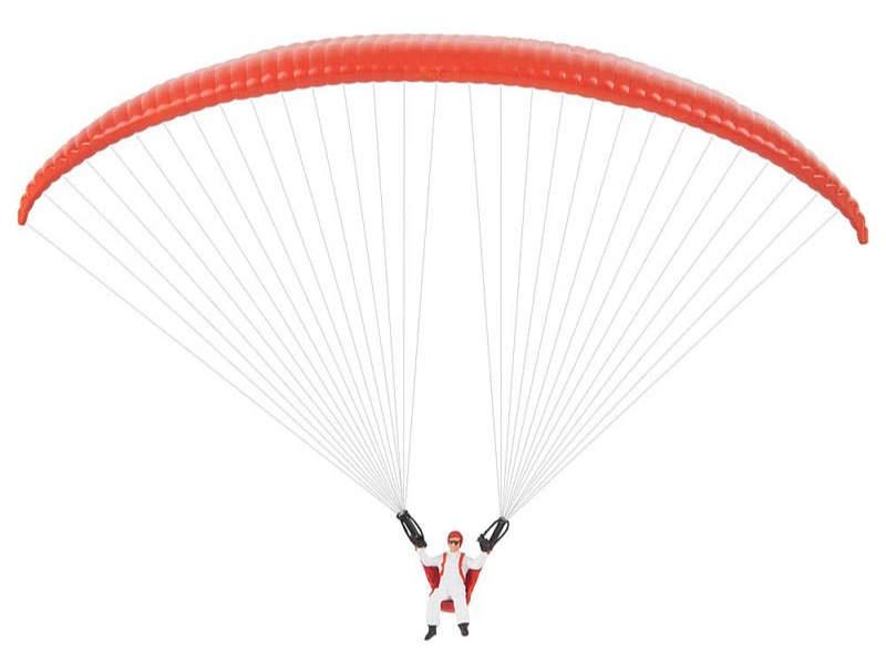 Gleitschirmflieger Bausatz H0