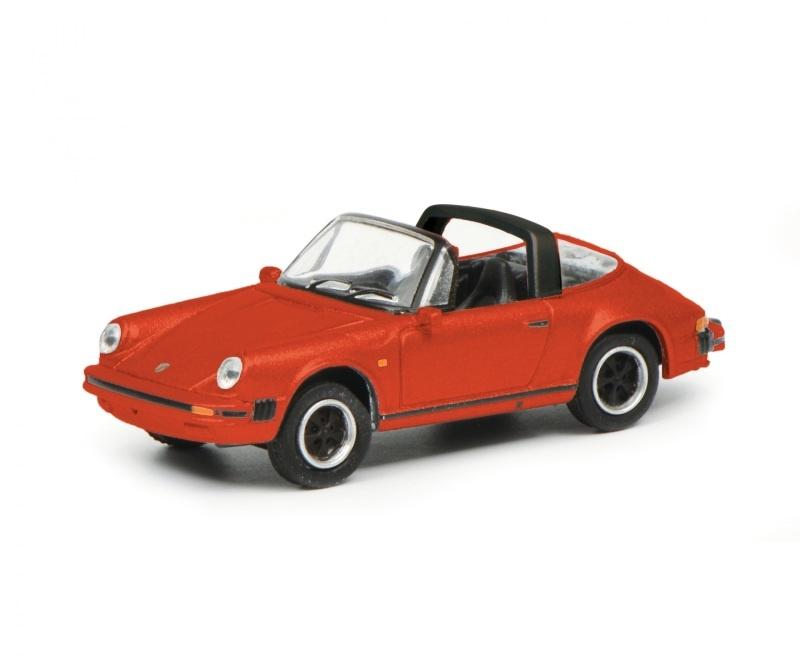 Porsche 911 3.2, rot 1:87 / Spur H0
