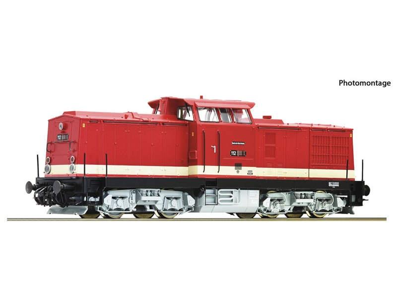 Diesellok BR 112 DR Sound H0 AC