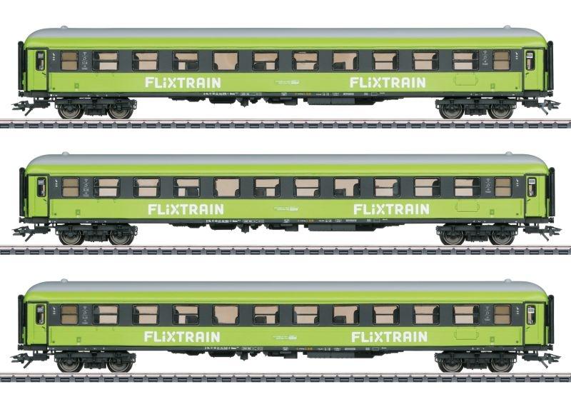 Personenwagen-Set Flixtrain, AC, Spur H0