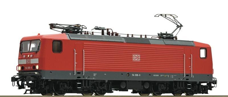 Elektrolokomotive 114 008 der DB AG, Sound, DC, Spur H0