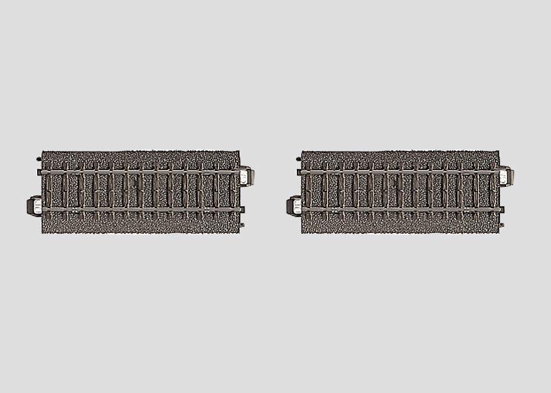 Kontaktgleis-Satz 2x 94,2 mm Spur H0 C-Gleis