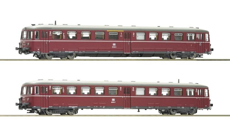 Akkutriebwagen BR 515 mit Steuerwagen, DB, Spur N