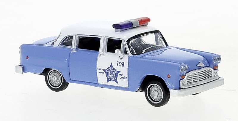 Checker Cab, Chicago Police Department, 1974, 1:87 / H0