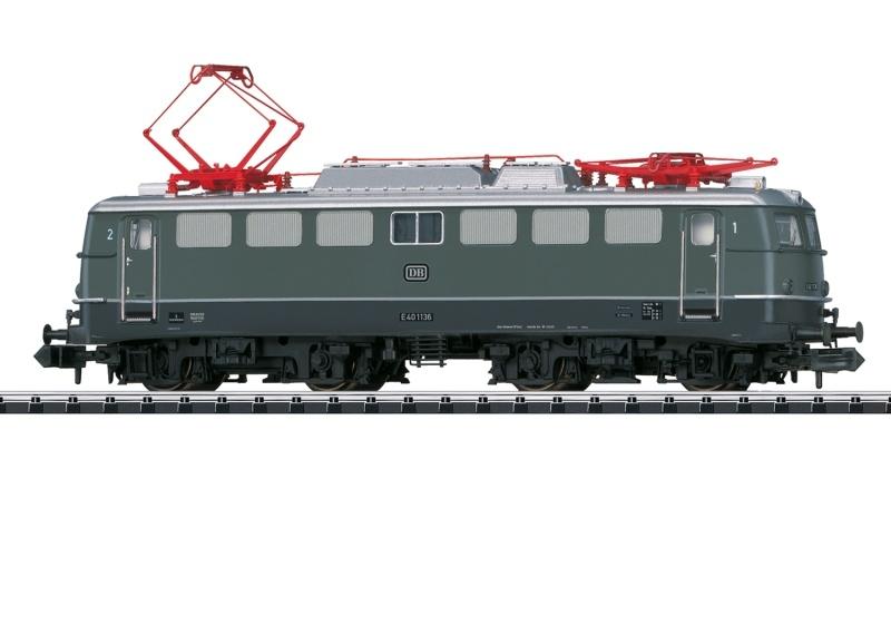 Elektrolok Baureihe E 40 der DB, Sound, Minitrix Spur N