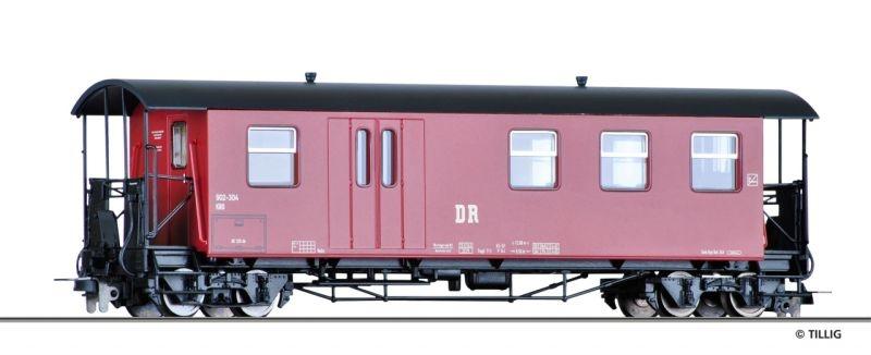 Packwagen KBD4i der DR, Spur H0m