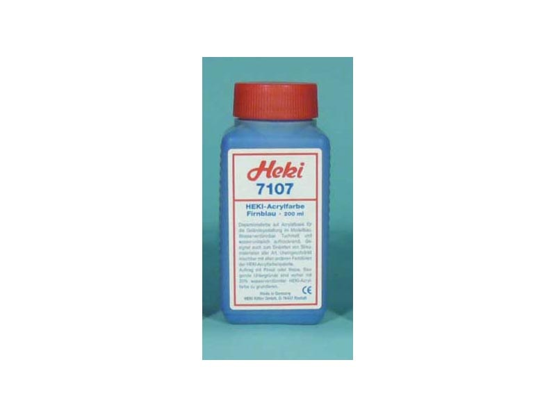 Acrylfarbe Blau, 200 ml