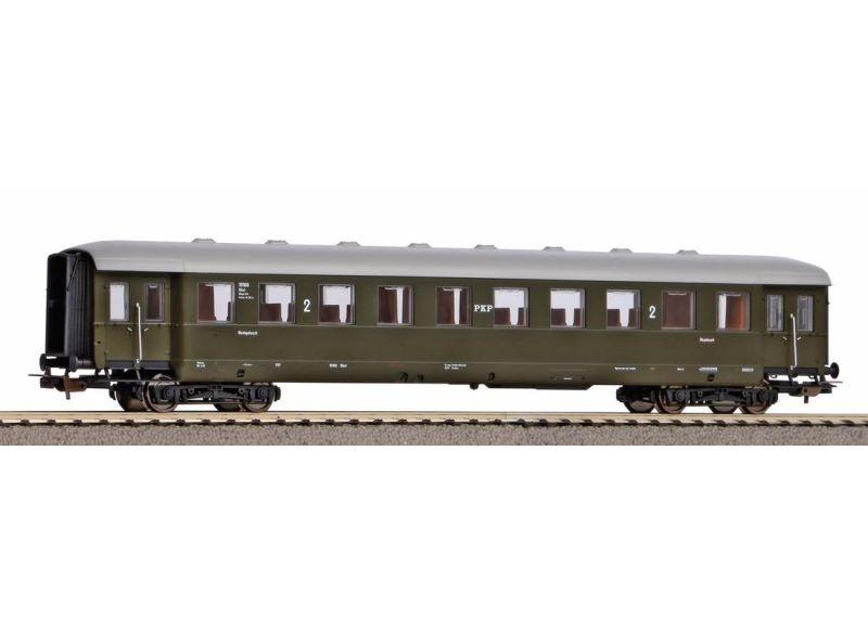 Schürzeneilzugwagen 2. Klasse der PKP, Ep. III, DC, Spur H0