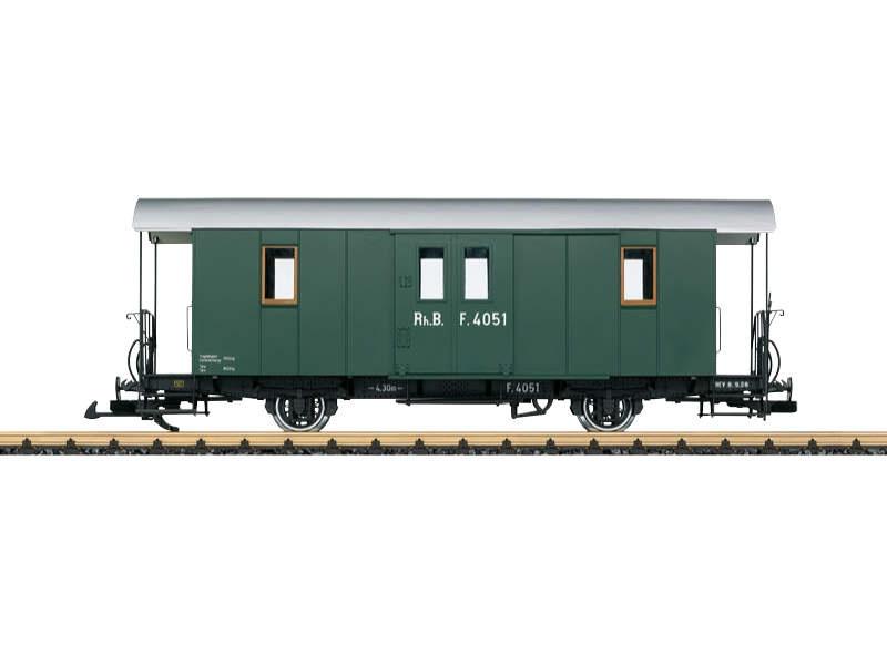 RhB Gepäckwagen F 4051 Spur G