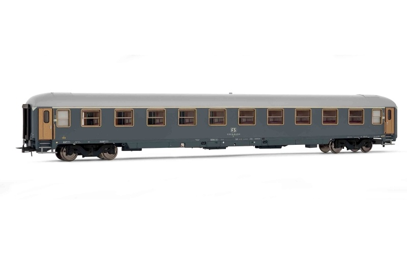 Reisezugwagen Typ X 79 , Grau der FS, DC, Spur H0
