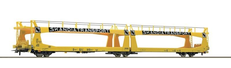 Autotransportwagen Skandiatransport der SJ, DC, Spur H0
