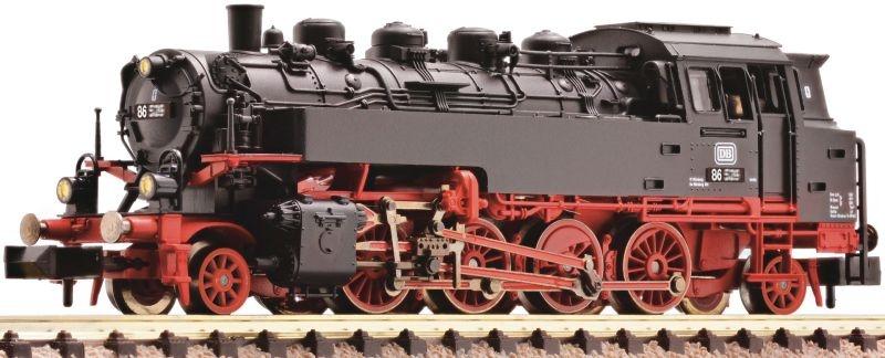 Dampflokomotive BR 86 der DB, DCC, DC, Spur N