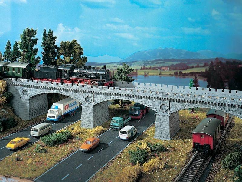 Steinbogenbrücke, Bausatz, Spur H0