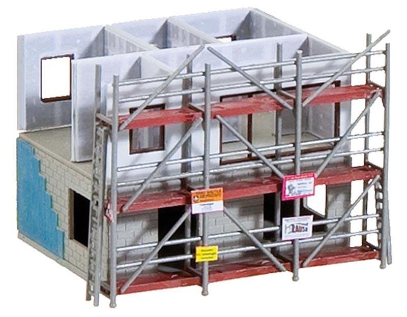 Fertighaus im Bau Bausatz, Spur N