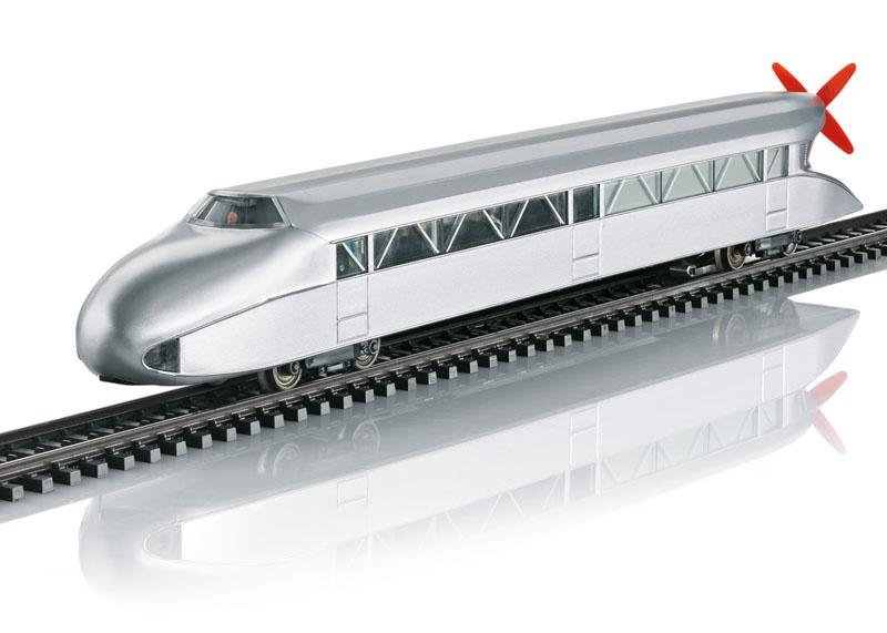 Schienenzeppelin der DRG, mfx, Sound, AC, Spur H0, MHI
