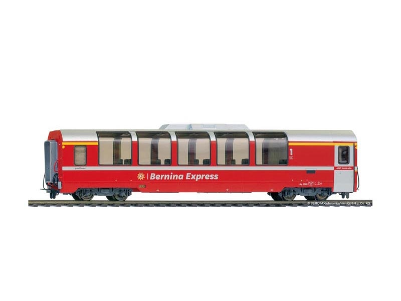 Panoramawagen Bernina Express Api 1305 der RhB, DC, Spur H0