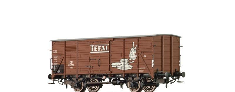 Gedeckter Güterwagen G10 Tefal der DB, Epoche III, Spur H0