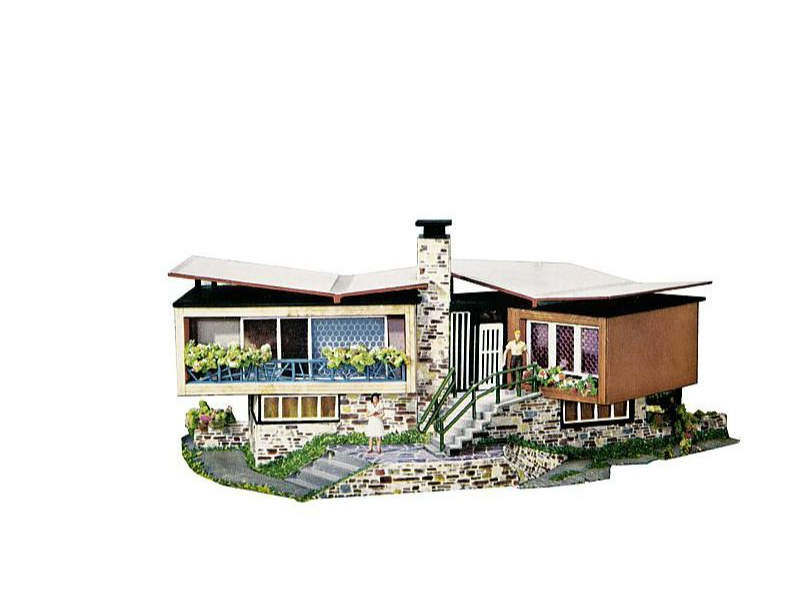 B-271 Villa im Tessin Bausatz H0