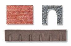 Mauern und Arkaden