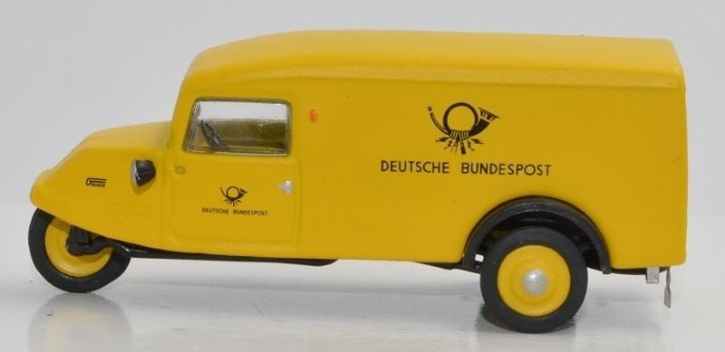 Goliath GD 750 Kombinationswagen Deutsche Bundespost 1:87 H0