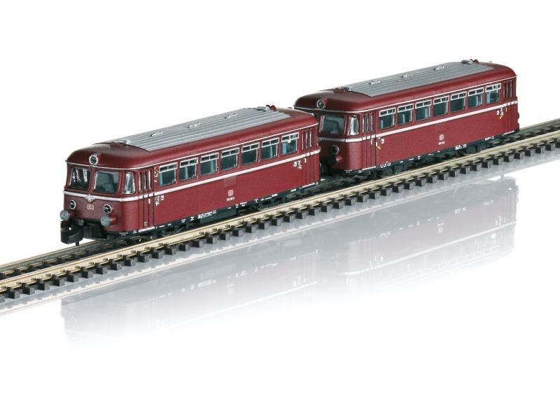 Schienenbus mit Beiwagen der DB, Spur Z