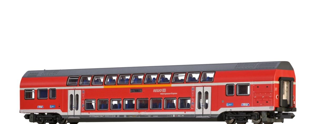 TWINDEXX Vario Doppelstock-Mittelwagen 2. Kl. DB AG, LED, N