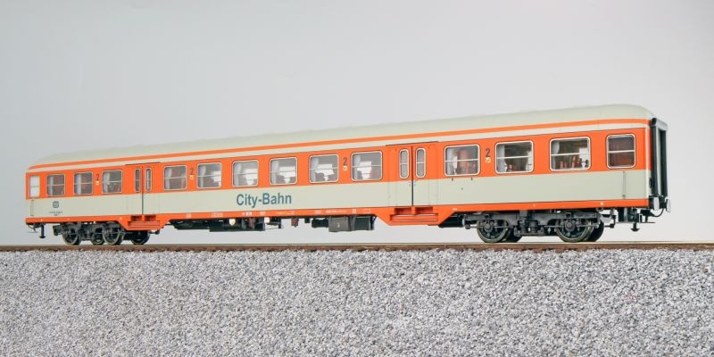 n-Wagen Silberling Bnrzb778.1, 2. Kl., DB, orange, DC, H0