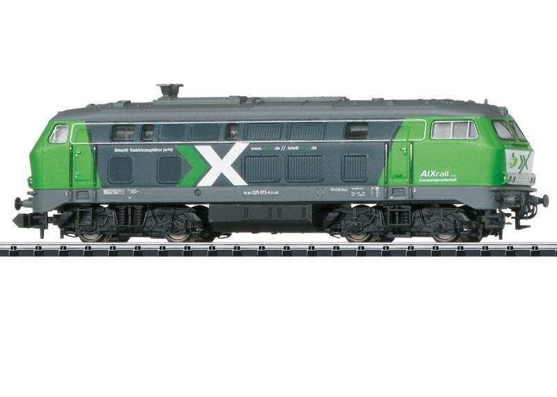Diesellokomotive BR 225 der AIXrail, Minitrix Spur N