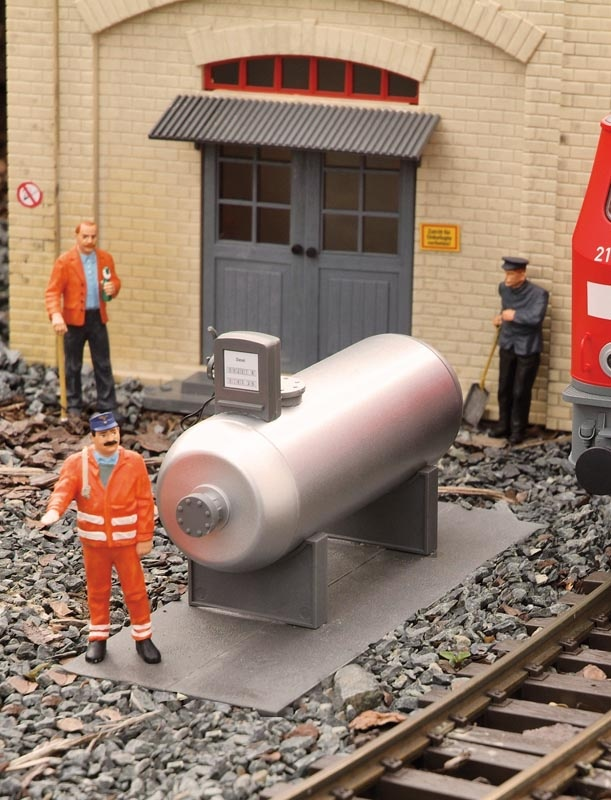 Dieseltankstelle, Bausatz, Spur G