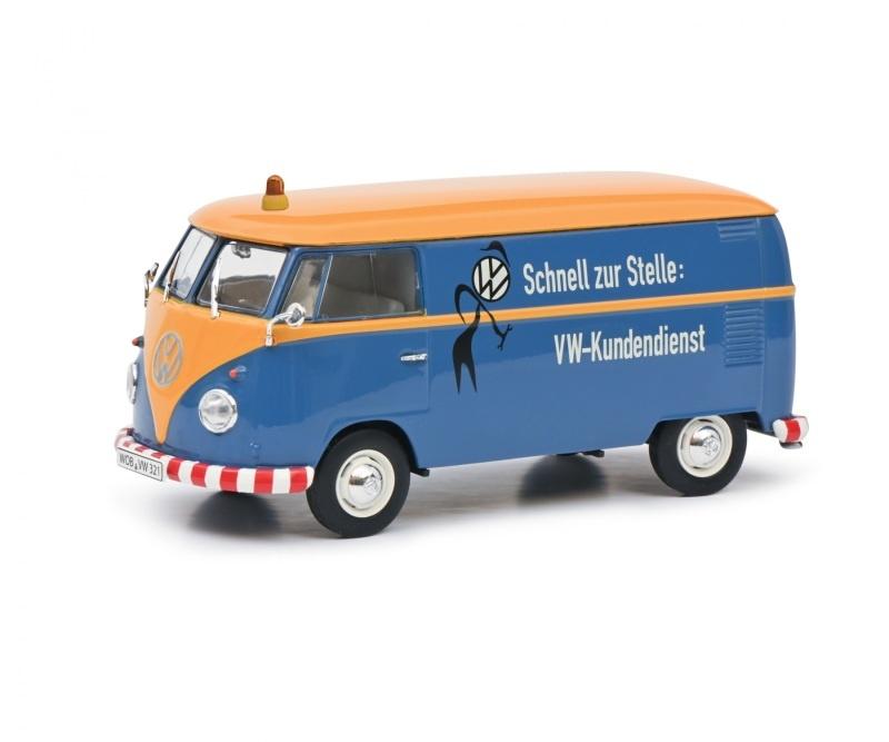 VW T1b Kastenwagen VW Kundendienst, 1:32