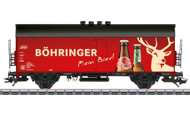 Bierkühlwagen Böhringer, AC, Spur H0