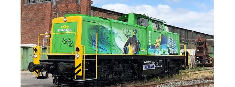 Diesellok 291 Sunrail, V, DC Digital EXTRA, Spur H0