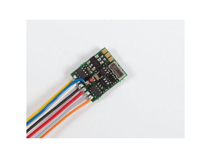 Lokdecoder Gold mini+ 0,5 / 0,8A, mit Kabel
